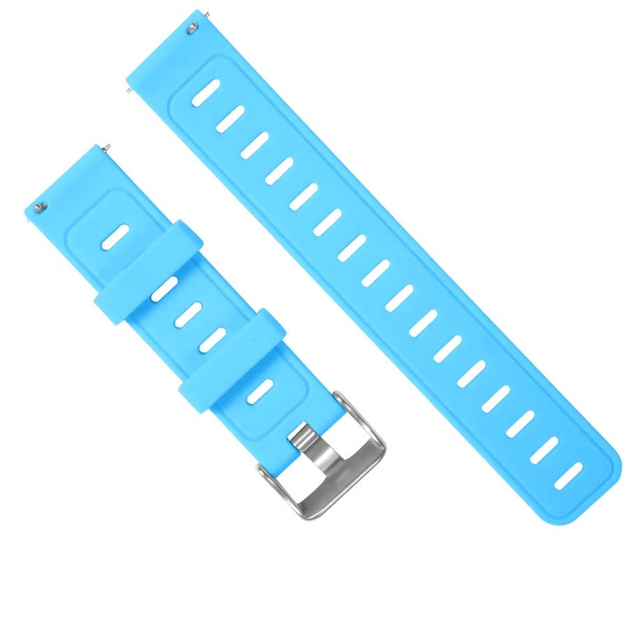 Amazfit Pace / Stratos / GTR 47 мм. Ремешок для смарт часов, Blue, ширина - 22 мм.