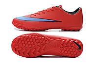 Сороконожки Nike Mercurial Victory V Turf Bright Crimson/Persian Violet/Black, фото 1