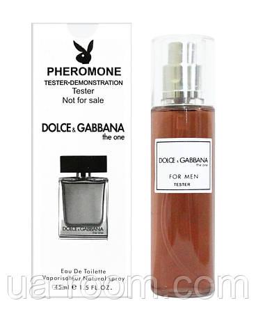 Мужской, Тестер 45 мл. Dolce&Gabbana The One For Men, фото 2