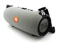 JBL XTREME Super Bass 40W A4 copy, Bluetooth колонка с MP3, серая.   AG320104