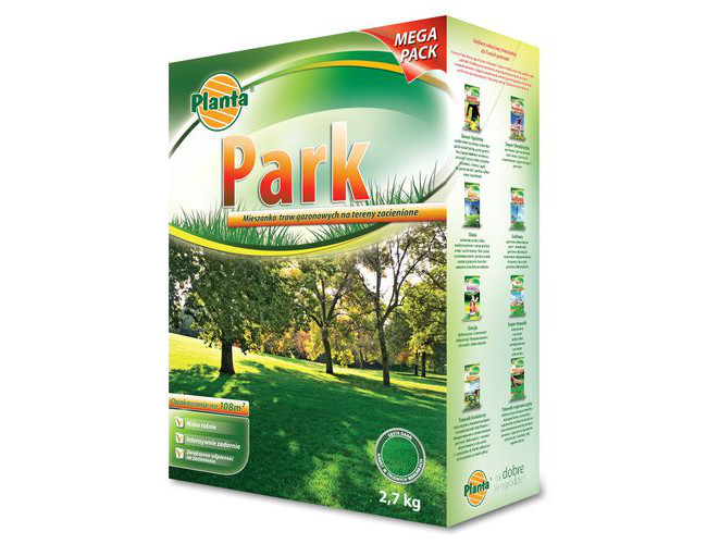 Насіння трави газонної Planta PARK тіньова 2,7 кг