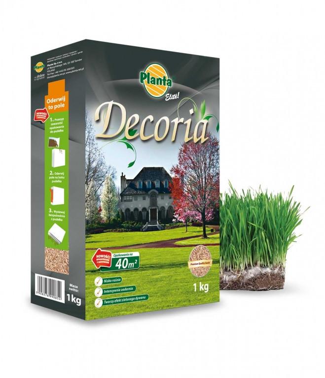 ЭЛИТНАЯ серия газонной травы декоративной DECORIA 1кг