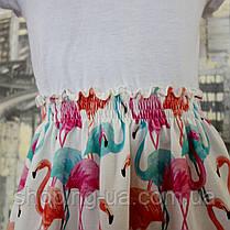 Платье для девочки фламинго Five Stars PD0238-110p, фото 2