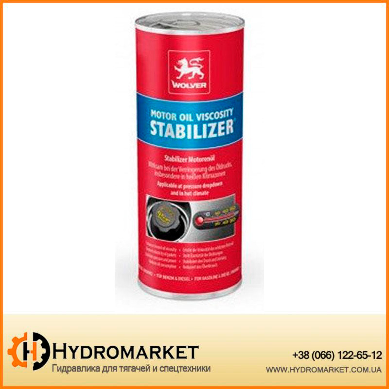 Стабилизатор вязкости Wolver Motor Oil Stabilizer