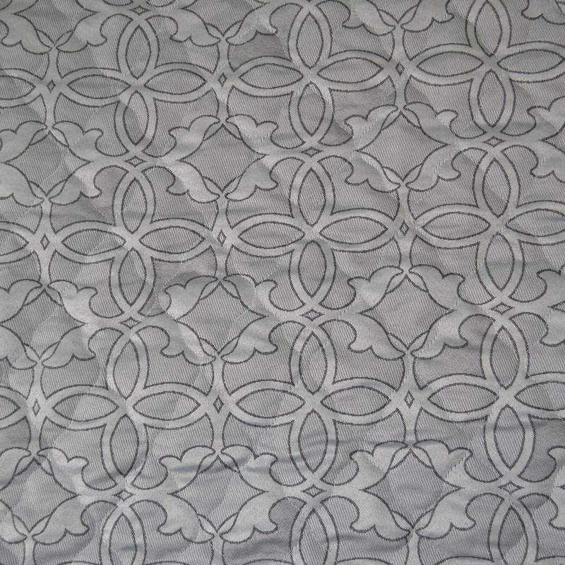 Матрасная ткань - Орнамент Серый