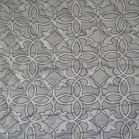 Матрасная ткань - Орнамент Серый, фото 1