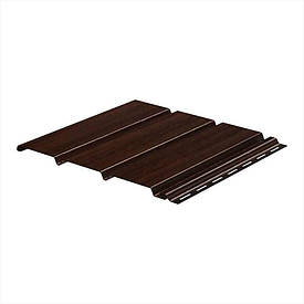 Софит Galeco подшивочный не перфорированный темно-коричневый Ral 8019