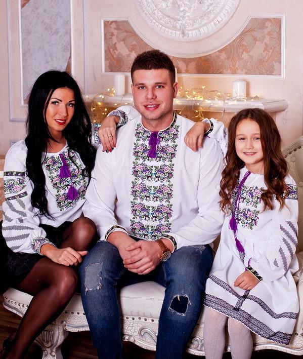 Вишитий сімейний  комплект Багатство