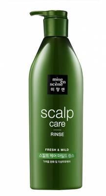 Кондиционер для чувствительной кожи головы Mise en Scene Scalp Care Rinse, 680 ml