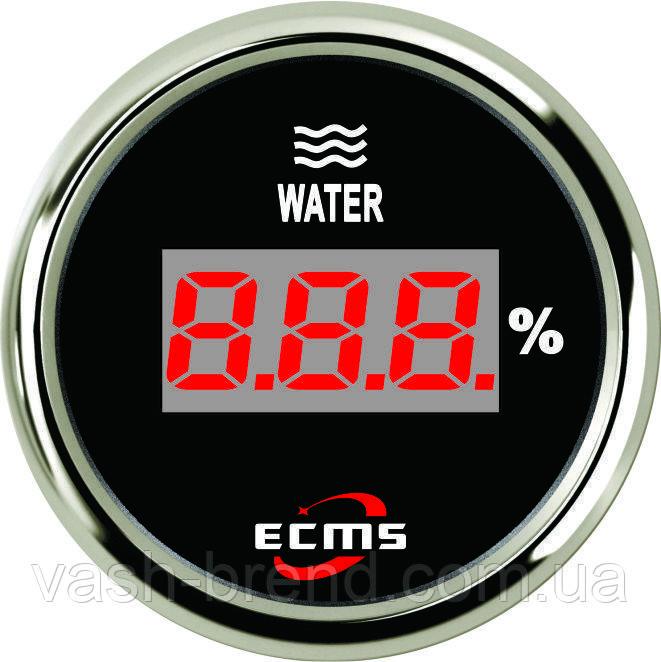 Цифровий датчик рівня води Ecms (чорний)