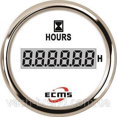 Цифровой счетчик моточасов ecms (черный)