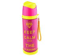 Термос KEEP CALM розовый