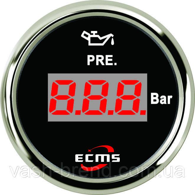 Цифровой датчик температуры масла Ecms (черный)