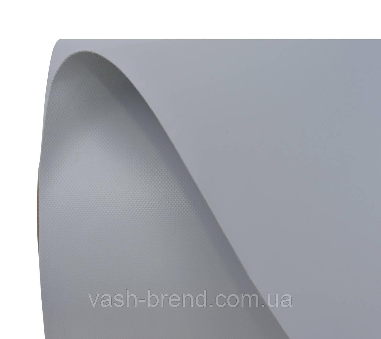 Ткань ПВХ (PVC) 50х2,05м светло-серая, 950гр рулон