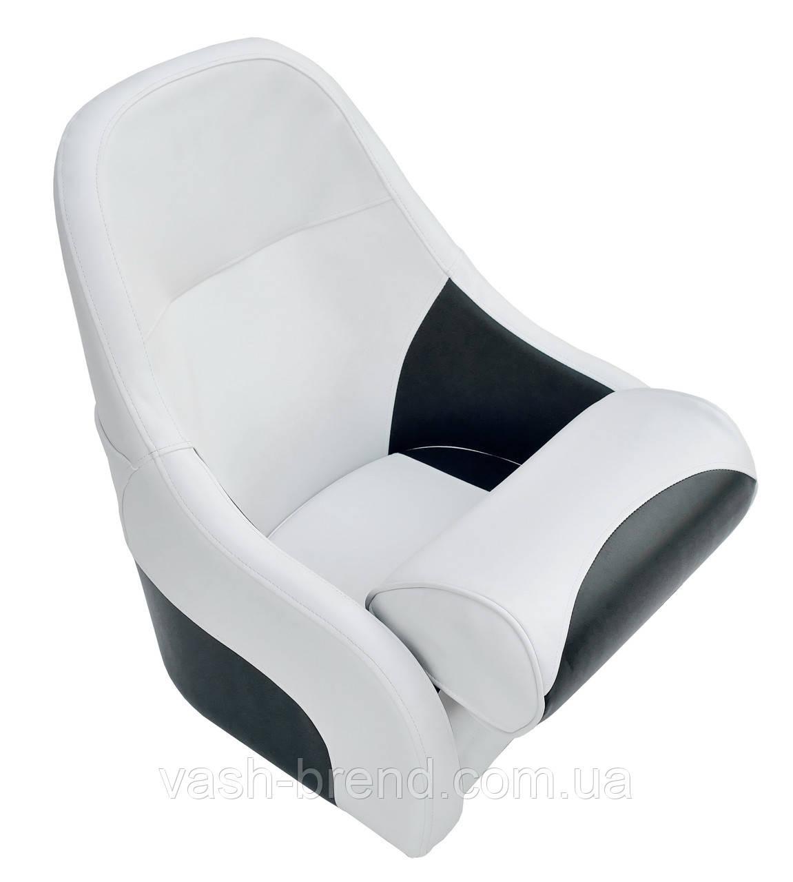 Крісло Flip up з кріпильної пластиною сіро-синє чорне