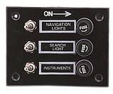 Панель переключателей на 3 переключателя, фото 2