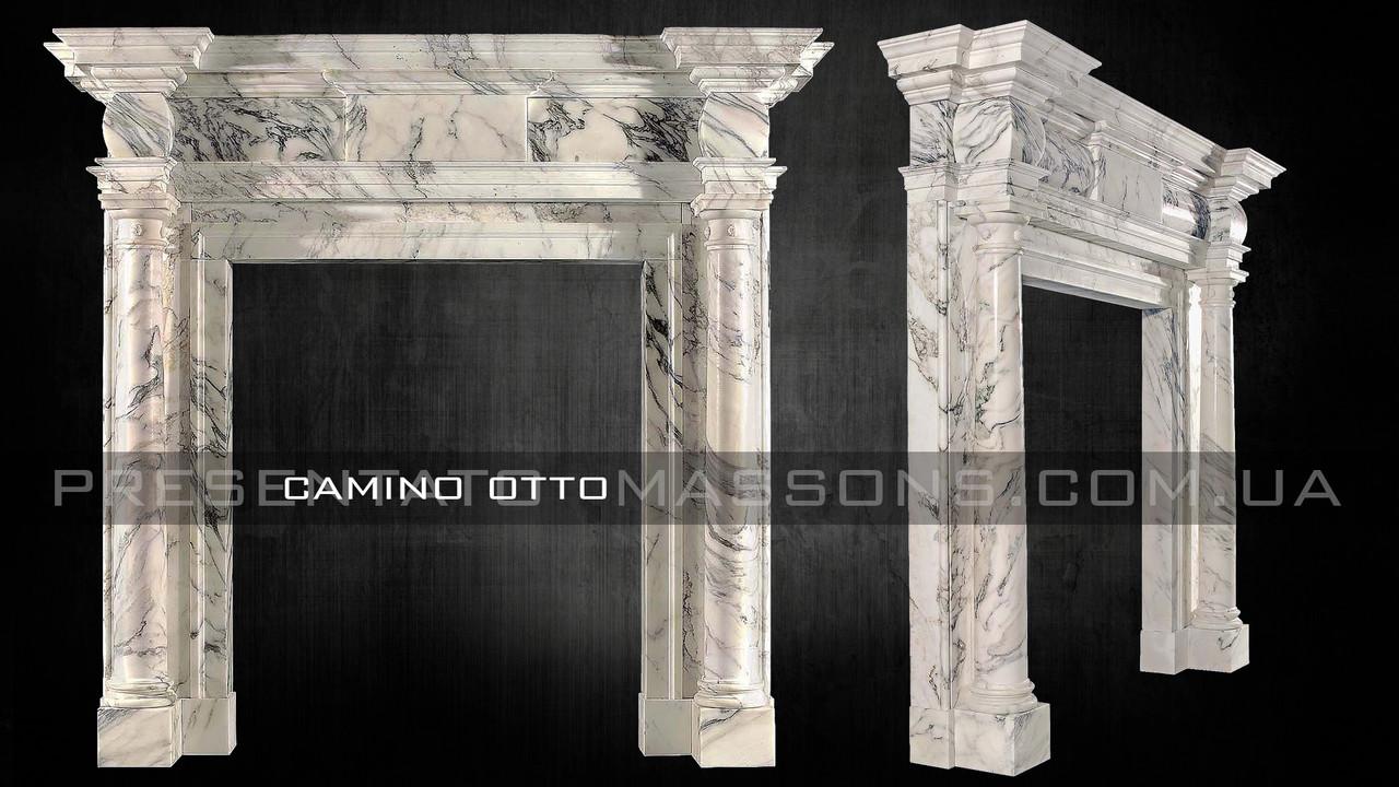 Мраморный камин Camino OTTO