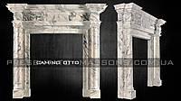 Каминный портал из мрамора Camino OTTO.
