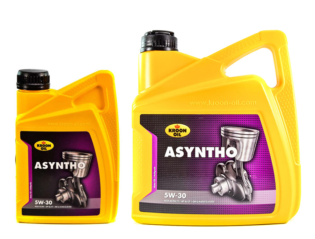 Моторное масло KROON OIL (крон оил) ASYNTHO 5W-30  5л