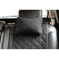 Автомобильная подушка на подголовник  черный