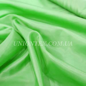Подкладочная ткань нейлон 170Т салатовый