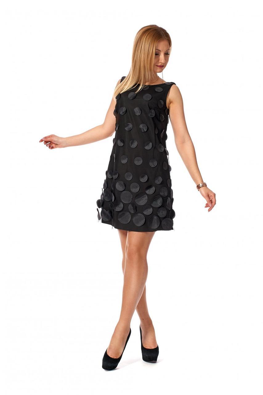 Платье нарядное 1167.2 цвет чёрный