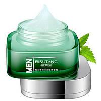 Увлажняющий мужской крем для лица BINGJU Men Rejuvenating Moisturiser  Cream  с экстрактом алоэ мяты и зеленого чая 50 мл