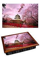 Поднос с подушкой Японская Сакура