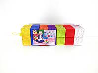 Кубики игрушечные разноцветные 28шт. 6*6*6 см. ТМ Киндервей, 02-604
