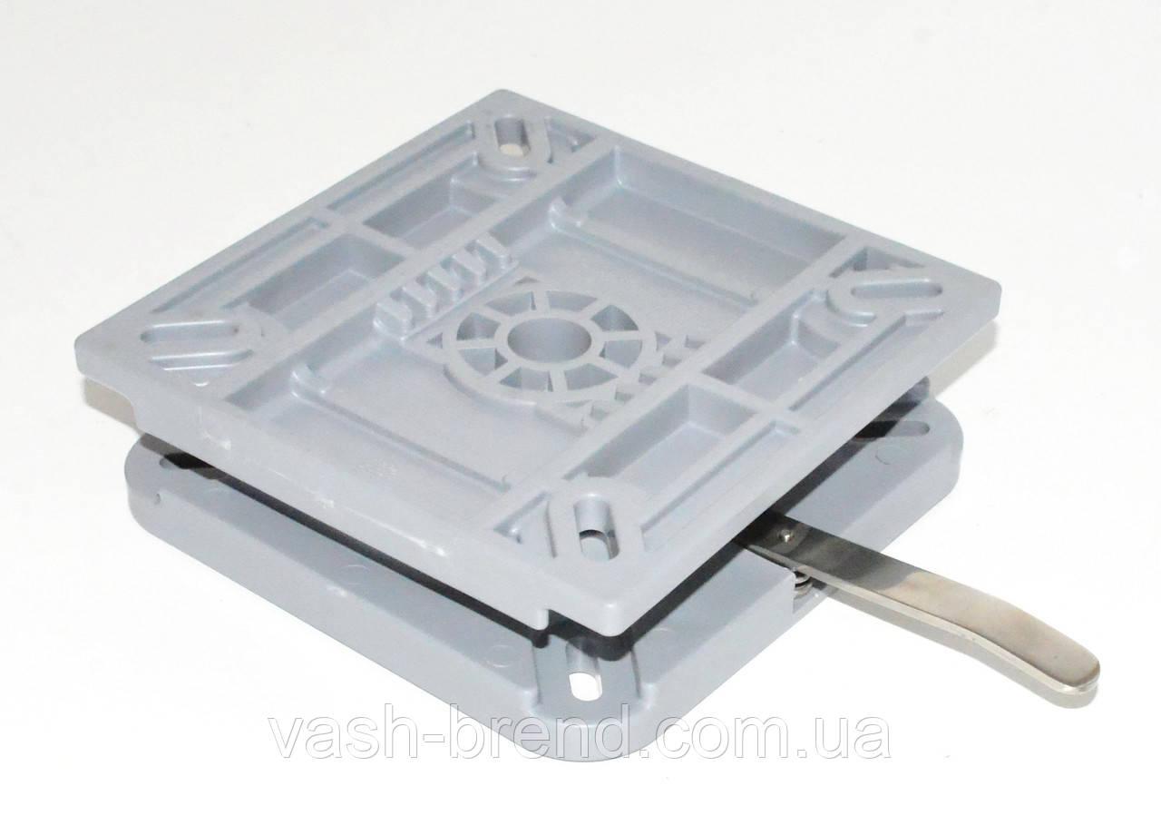 Быстросъемная поворотная пластина с фиксатором поворота