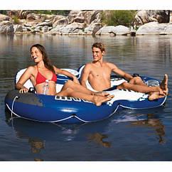 Пляжне подвійне надувне крісло Intex 243 х 157 см