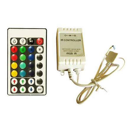 Контроллер для LED ленты RGB IK-управление 28 кнопок 72 ВТ., фото 2