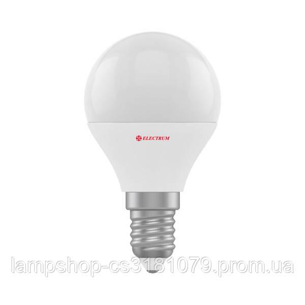 Лампа светодиодная шар LB-31 5W E14 4000K алюмопласт. корп. A-LB-1934