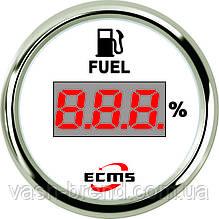 Цифровой датчик топлива Ecms белый