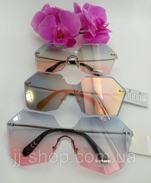 Солнцезащитные очки Вайфаеры унисекс черные