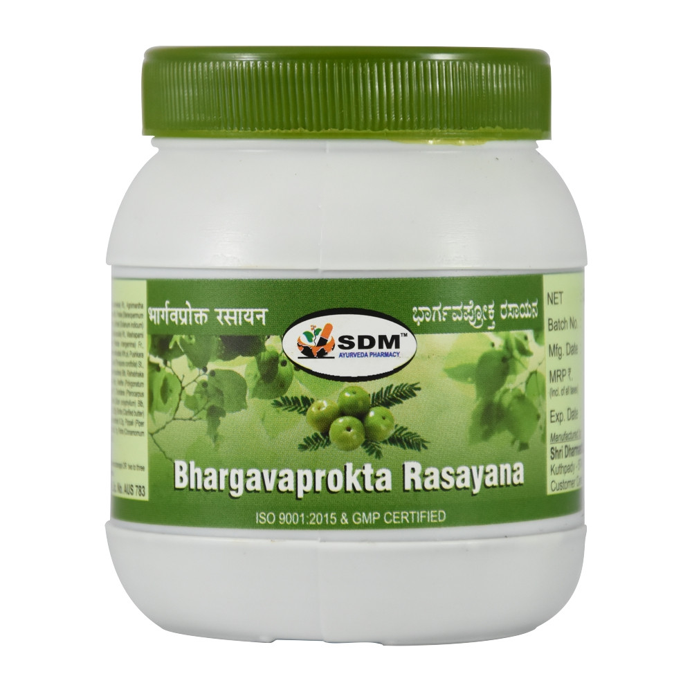 Бхаргавапрокта Расаяна (Bhargavaprokta Rasayana, SDM), 250 грамм - Аюрведа премиум качества