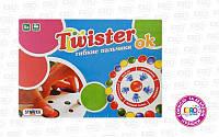 """Игра развивающая """"Твистер Ок"""", гибкие пальчики, ТМ Стратег, 730"""
