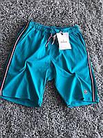 Мужские шорты MONCLER голубые, фото 1