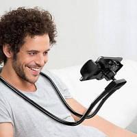 Гибкий держатель на шею для  телефона/ подставка для телефона  HOLDER WAIST, фото 1