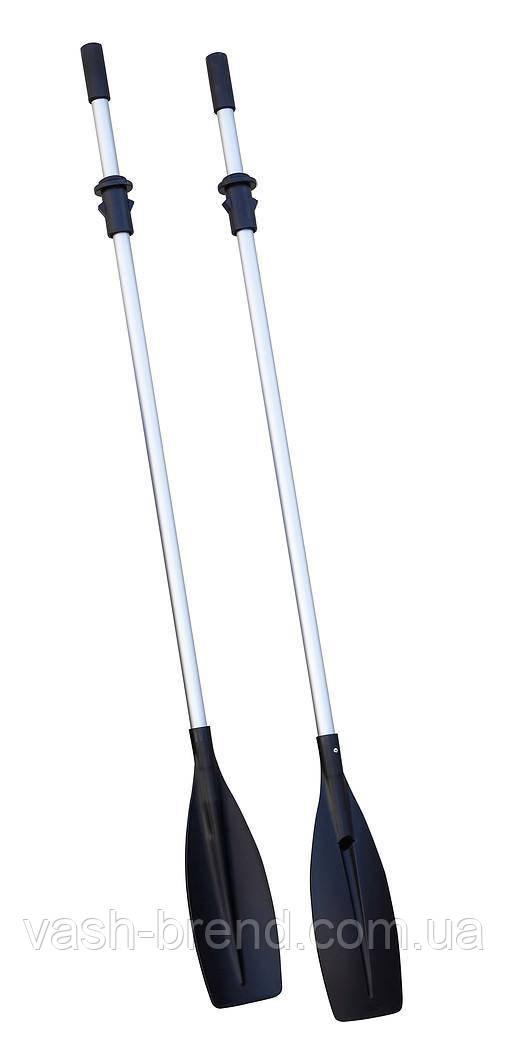Весло гребное 2шт длина 2,1 метра алюминий