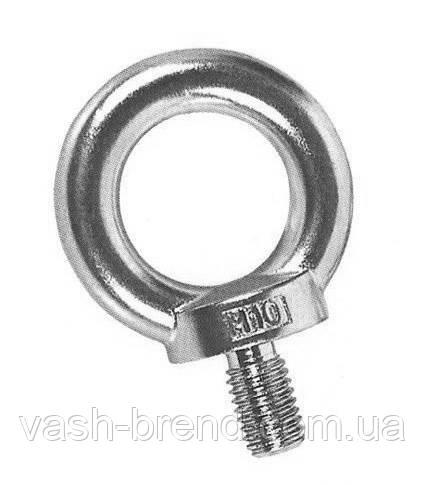 Кольцо с резьбой м8 нержавейка