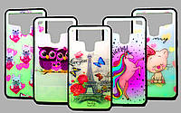 Накладка для смартфона Lephone W7 / 5 цветов, Universal