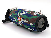 Портативная блютус колонка жбл JBL XTREME 20W  с FM MP3, камуфляжная.   AG320342