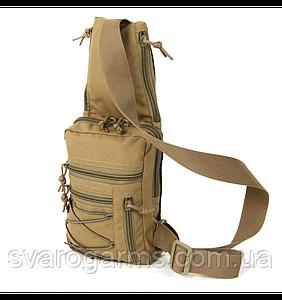 Тактична сумка-кобура EDC S Coyote