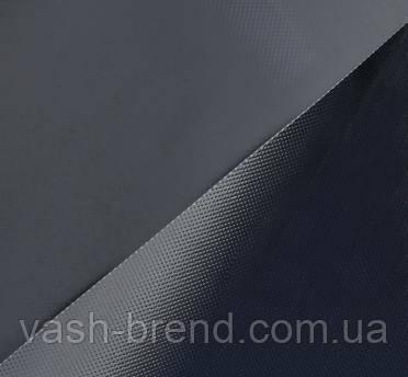 Ткань ПВХ (PVC) 1х1,50м черная 1100гр 50метров