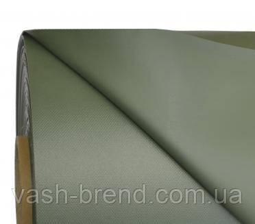 Ткань ПВХ (PVC) 50х1,50м олива 1100гр