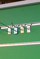 Крючки для товаров хром на эконом панель, 15 см. (5мм.), фото 1