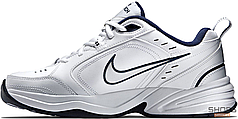 Мужские кроссовки Nike Air Monarch IV White Navy 415445-102, Найк Монарх