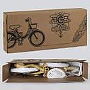 """Двухколесный детский велосипед Corso 16"""" РОЗОВЫЙ с розовой корзинкой и сидением для куклы детям 4-6 лет, фото 3"""