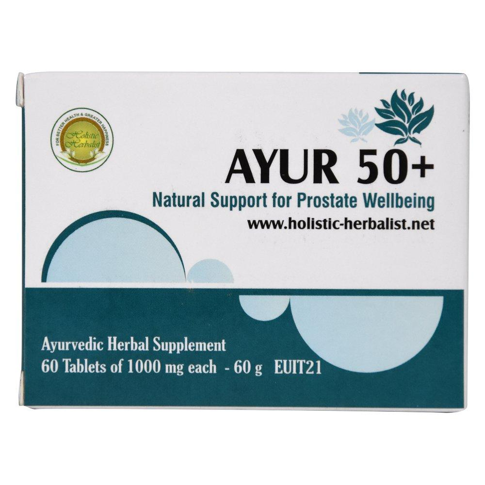 Аюр Пятьдесят плюс 50+ Holistic Herbalist - баланс предстательной железы, 60 таблеток